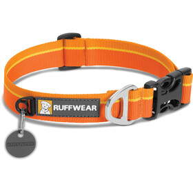 Ruffwear Hoopie Collare per animali, orange sunset